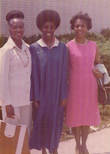 Aunt Thelma me Aunt Helen 1977
