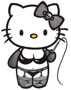 Hello Kitty's Night Job