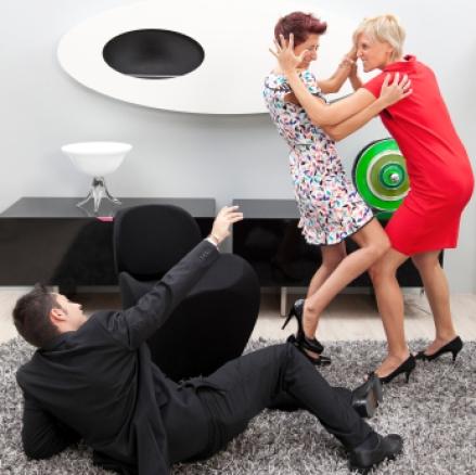 Females fighting ICLOUD LEAK pic 54