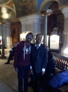 Stephen & I in Albany