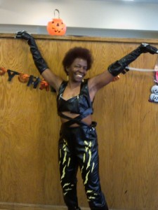 Me channeling Cat Woman Halloween 2011