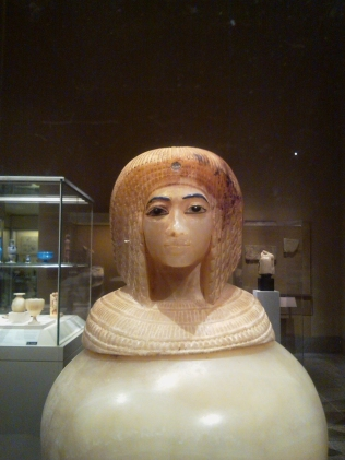 Queen Tiye ~ Canopic Jar