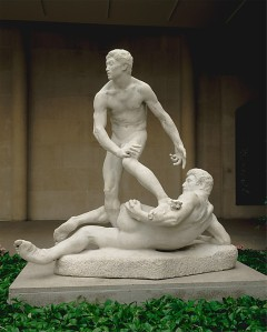 The Struggle of the Two Natures in Man George Grey Barnard (American, Bellefonte, Pennsylvania 1863–1938 New York)
