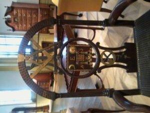 18th Century Masonic Chair