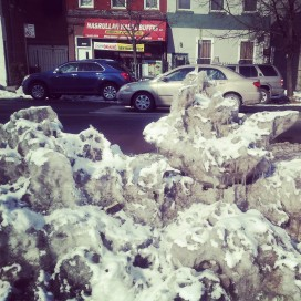 Brooklyn Ice Sculpture