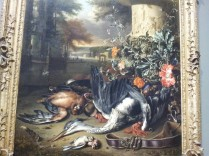 "Gamepiece with a Dead Heron (""Falconer's Bag"") Jan Weenix"