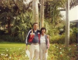 Our Florida vacation around 1986