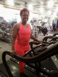 Getting My Sweat on at Seven Bell Fitness in Brooklyn, NY!