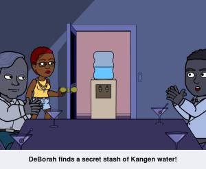 Cartoon_Kangen Water