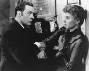Ingrid Berman in Gaslight (with Charles Boyer)