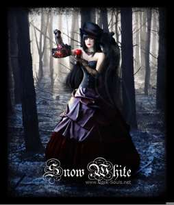 Bad_A$$ Goth Snow White