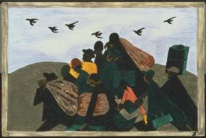 Jacob Lawrence ~ Migration Series
