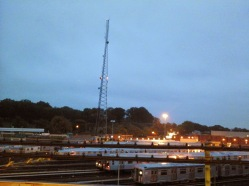 Broadway Junction Elevated Evening Views