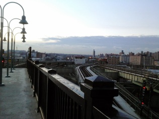 L Train Views & Vistas from Broadway Junction