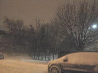Snowstorm Juno