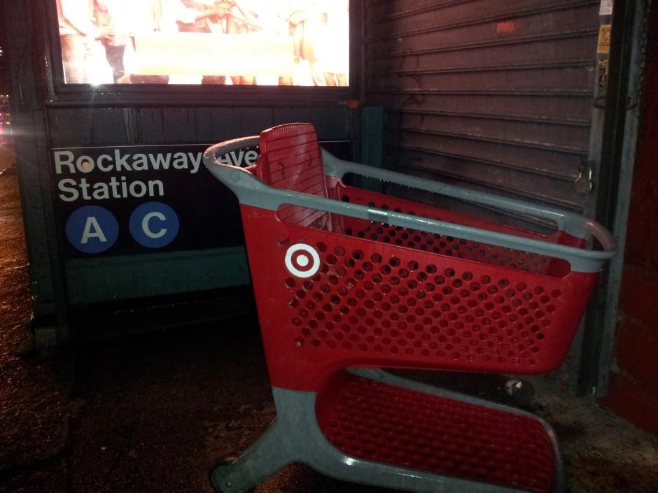 Shopping Cart Far from Home