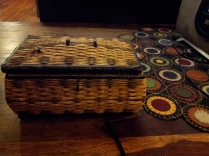 Grandmother Eva's Music Sewing Box