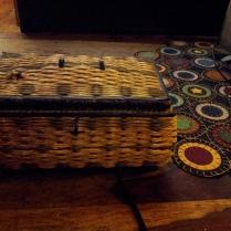 Grandmother Eva's Music Sewing Box