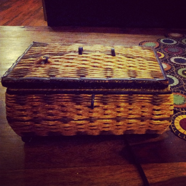Grandma Eva's Music Sewing Box