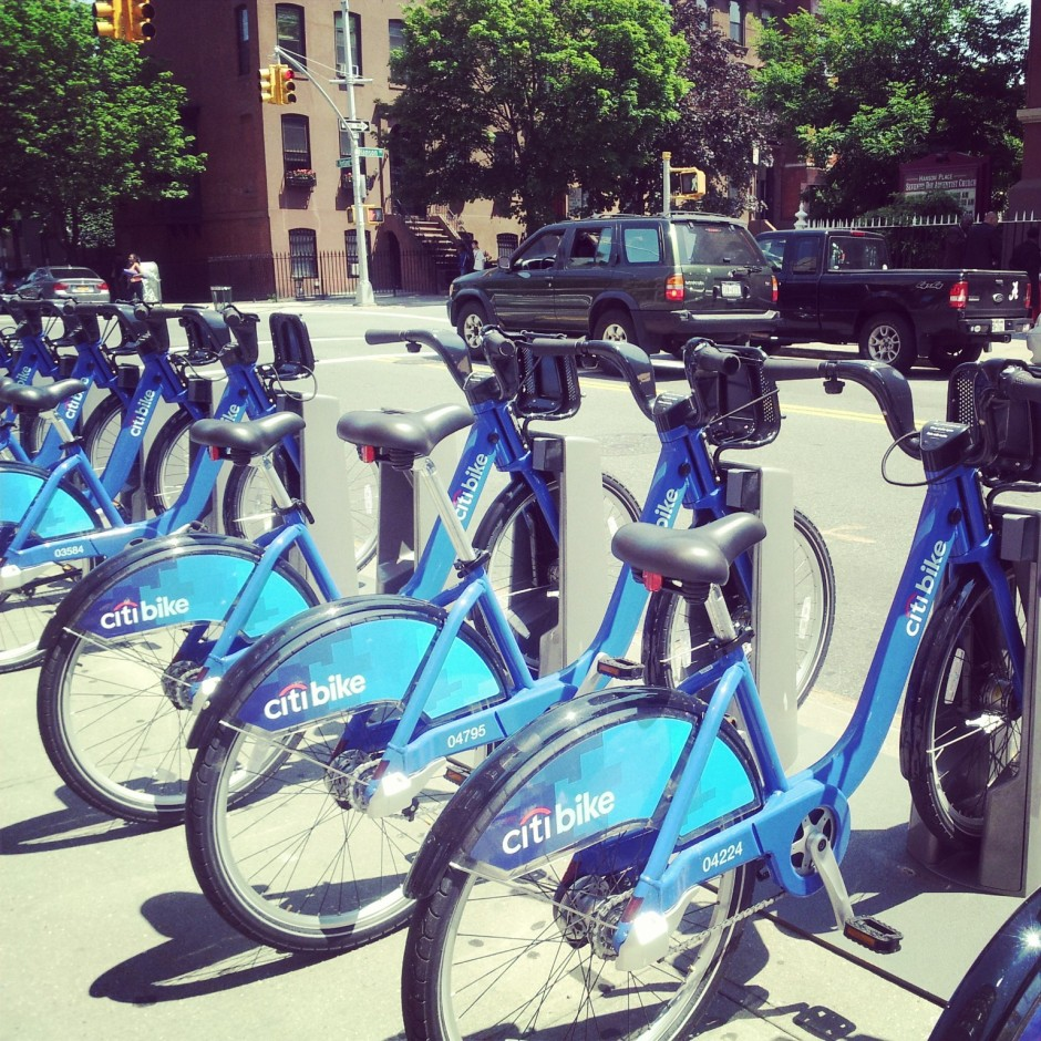Citi-Bikes ready for Riders