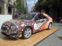 Graffiti Car Orange Hi-Lights
