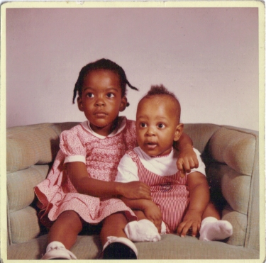Me and My brother Stephen December 1961