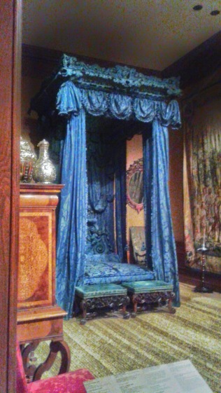 Blue Bed Aitken Galleries British Period Rooms