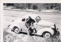 Dad's 1st car early 1950s. DeBorah Ann Palmer