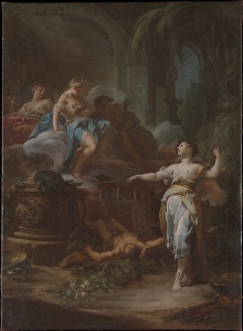 Medea Rejuvenating Aeson Artist: Corrado Giaquinto (Italian, Molfetta 1703–1766 Naples)