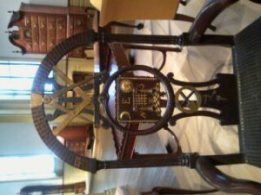 18th Century Masonic Chair