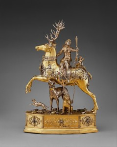 Diana and the Stag Maker: Joachim Friess (ca. 1579–1620, master 1610) Date: ca. 1620