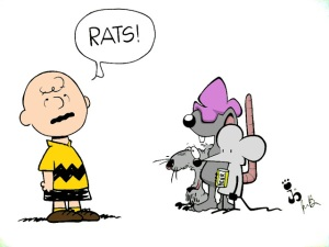 Charlie Brown Rats