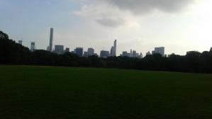 New York Skyline as seen from Central Park