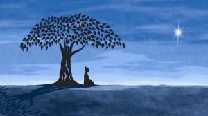 Bodhi Tree Buddha