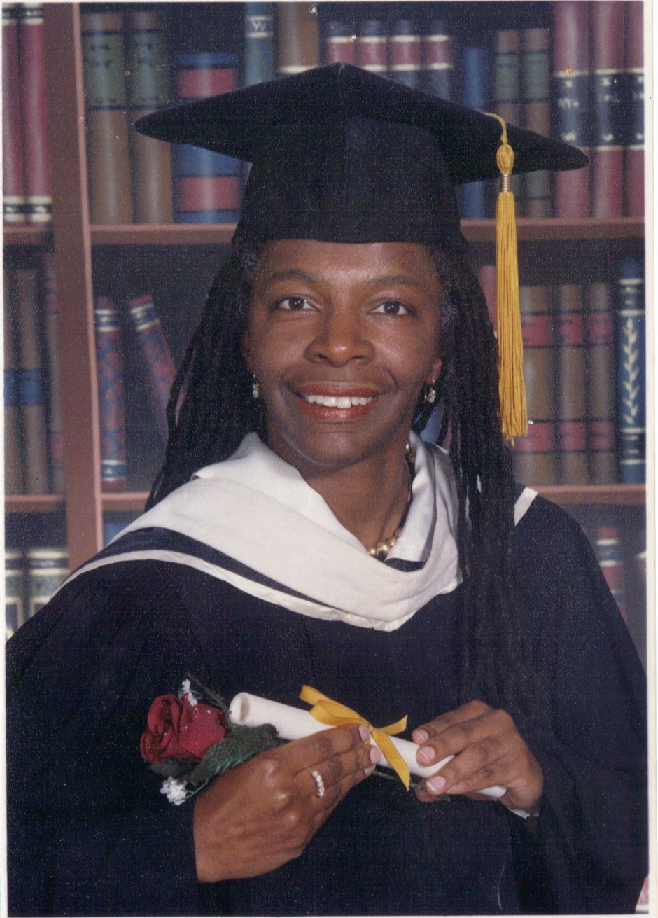 Marymount Manhattan College 2002 Graduation photo