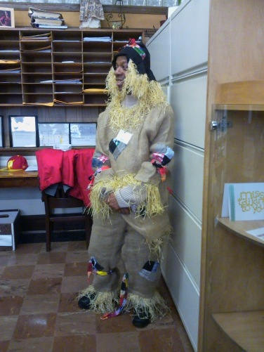 Stephen as Scarecrow