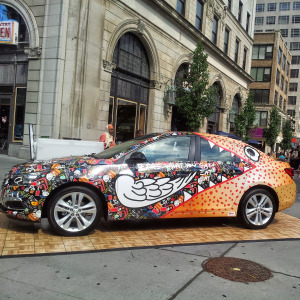 Graffiti Car