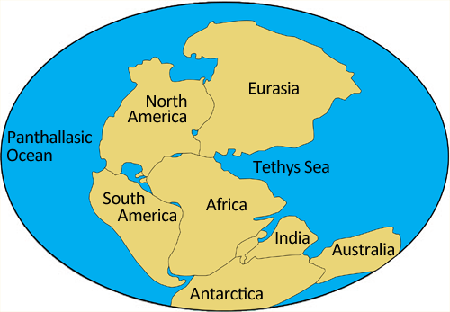 Pangaea_Continental Drift