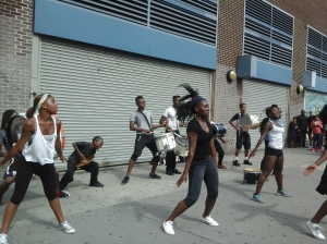 Young People's Dancing Band in Harlem