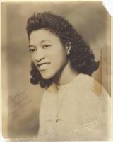 Aunt Thelma circa 1940s or 50s