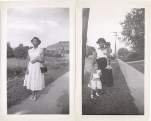 Two of the Sisters. My Mom Mable Elizabeth Palmer and Helen James.