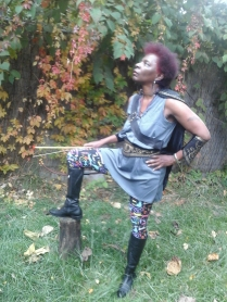 DeBorah the Huntress Guardian of the Forest