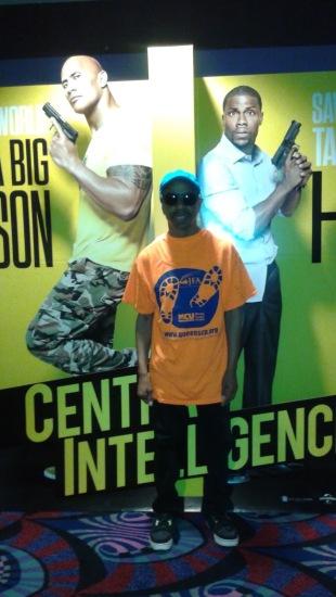 Stephen with 2 Buddies