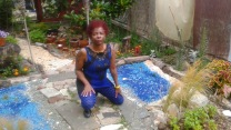 BlueSpider_WomanGarden_Pensive