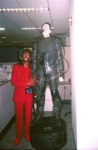 Me and the Borg at my old office job where I made more money and had a better life.