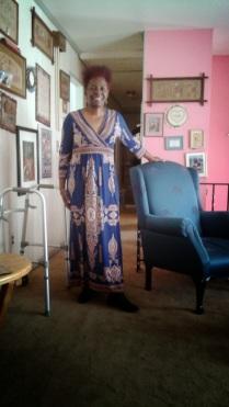Regal Blue Church Lady