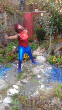 Spider Woman Pow Take That