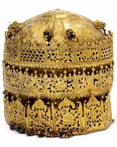 Ethiopia_Crown looted