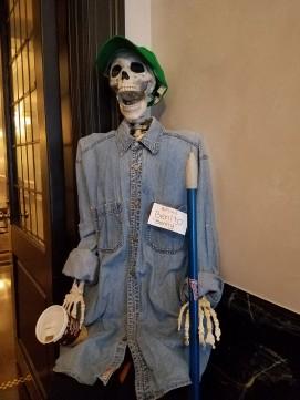 Doorman Skeleton