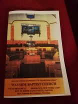 Wayside Baptist Church 9/23/2018